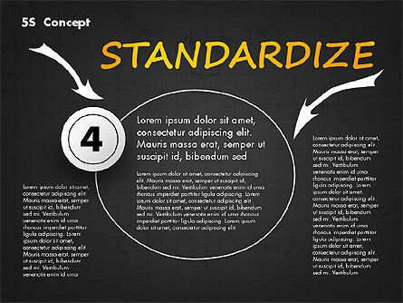 5S Diagram Concept, Slide 13, 02760, Business Models — PoweredTemplate.com