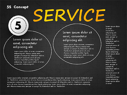 5S Diagram Concept, Slide 14, 02760, Business Models — PoweredTemplate.com