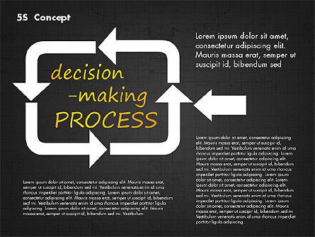 5S Diagram Concept, Slide 15, 02760, Business Models — PoweredTemplate.com