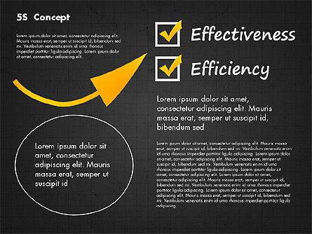5S Diagram Concept, Slide 16, 02760, Business Models — PoweredTemplate.com
