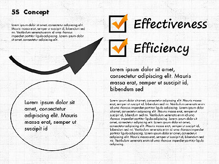 5S Diagram Concept, Slide 8, 02760, Business Models — PoweredTemplate.com