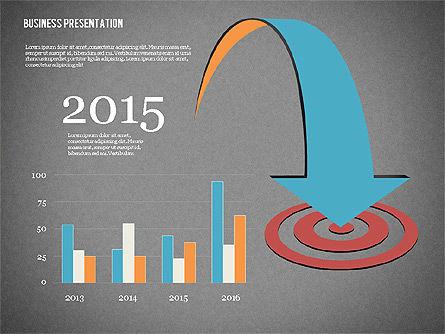 Creative Business Presentation with Data Driven Charts, Slide 10, 02762, Presentation Templates — PoweredTemplate.com