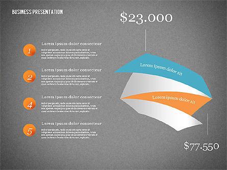 Creative Business Presentation with Data Driven Charts, Slide 11, 02762, Presentation Templates — PoweredTemplate.com