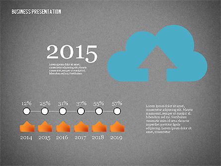 Creative Business Presentation with Data Driven Charts, Slide 12, 02762, Presentation Templates — PoweredTemplate.com
