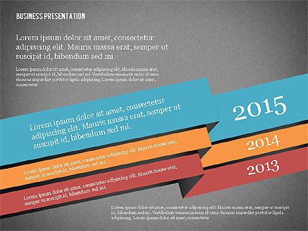 Creative Business Presentation with Data Driven Charts, Slide 13, 02762, Presentation Templates — PoweredTemplate.com