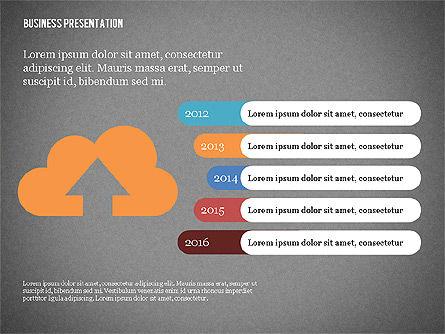 Creative Business Presentation with Data Driven Charts, Slide 15, 02762, Presentation Templates — PoweredTemplate.com