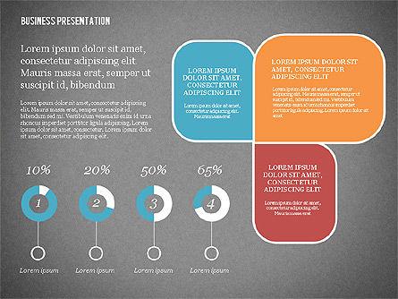 Creative Business Presentation with Data Driven Charts, Slide 16, 02762, Presentation Templates — PoweredTemplate.com