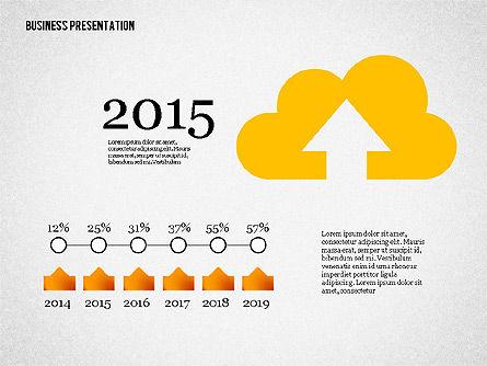 Creative Business Presentation with Data Driven Charts, Slide 4, 02762, Presentation Templates — PoweredTemplate.com