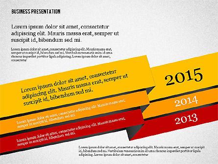 Creative Business Presentation with Data Driven Charts, Slide 5, 02762, Presentation Templates — PoweredTemplate.com