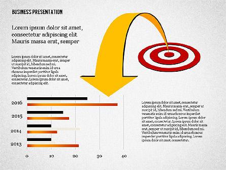 Creative Business Presentation with Data Driven Charts, Slide 6, 02762, Presentation Templates — PoweredTemplate.com