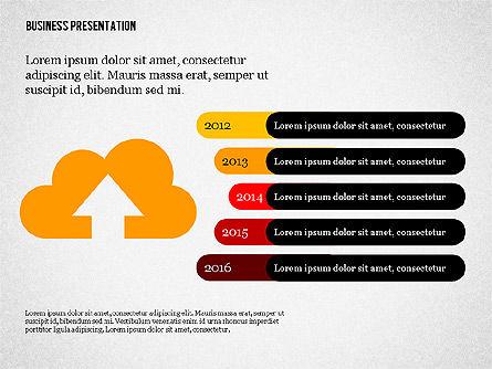 Creative Business Presentation with Data Driven Charts, Slide 7, 02762, Presentation Templates — PoweredTemplate.com