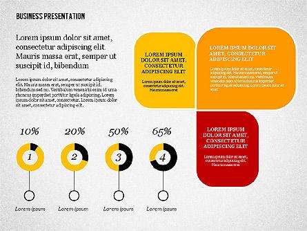 Creative Business Presentation with Data Driven Charts, Slide 8, 02762, Presentation Templates — PoweredTemplate.com