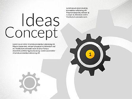 Presentation Templates: Ideas apresentação de conceito #02764