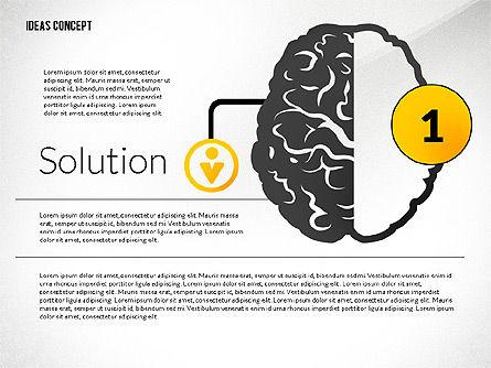 Ideas Concept Presentation, Slide 2, 02764, Presentation Templates — PoweredTemplate.com