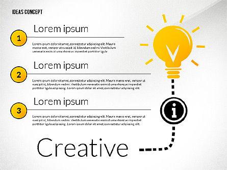 Ideas Concept Presentation, Slide 4, 02764, Presentation Templates — PoweredTemplate.com