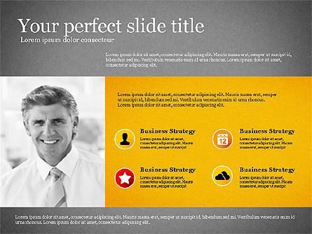 Modern Financial Presentation Template, Slide 10, 02766, Presentation Templates — PoweredTemplate.com