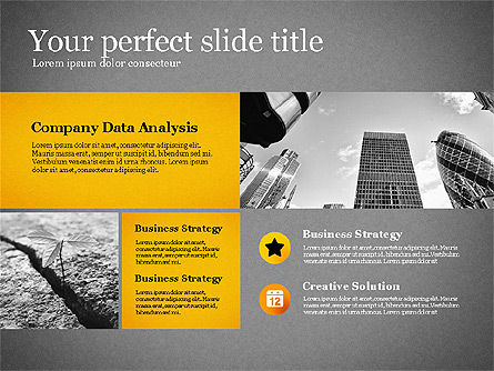 Modern Financial Presentation Template, Slide 11, 02766, Presentation Templates — PoweredTemplate.com