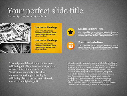 Modern Financial Presentation Template, Slide 15, 02766, Presentation Templates — PoweredTemplate.com