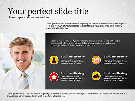 Modern Financial Presentation Template, Slide 2, 02766, Presentation Templates — PoweredTemplate.com