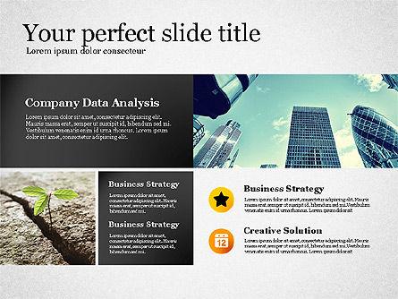 Modern Financial Presentation Template, Slide 3, 02766, Presentation Templates — PoweredTemplate.com