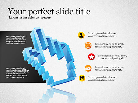 Modern Financial Presentation Template, Slide 5, 02766, Presentation Templates — PoweredTemplate.com