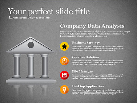 Modern Financial Presentation Template, Slide 9, 02766, Presentation Templates — PoweredTemplate.com
