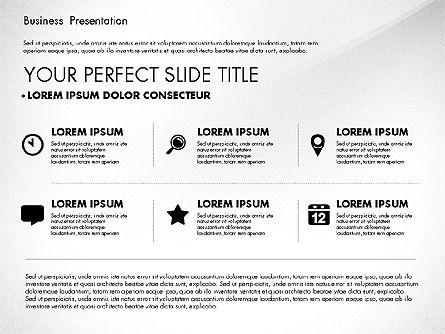 Business Presentation in Modern Colors, Slide 2, 02769, Presentation Templates — PoweredTemplate.com