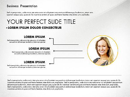 Business Presentation in Modern Colors, Slide 4, 02769, Presentation Templates — PoweredTemplate.com