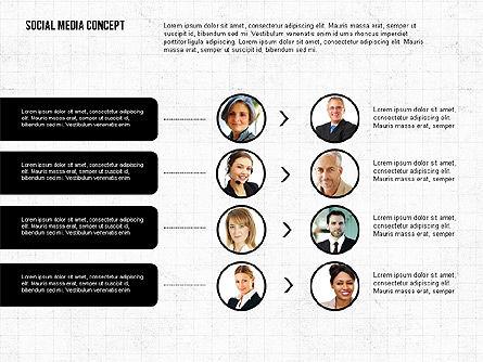 Social Networking Presentation Concept, Slide 3, 02770, Presentation Templates — PoweredTemplate.com