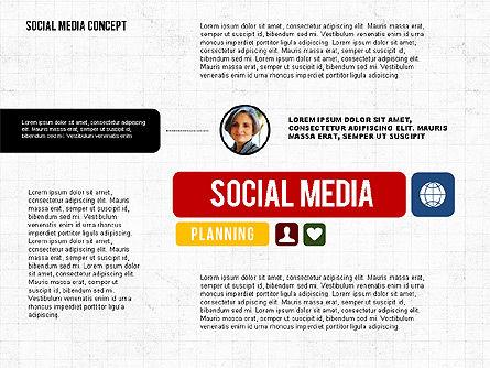 Social Networking Presentation Concept, Slide 4, 02770, Presentation Templates — PoweredTemplate.com