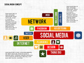 Presentation Templates: Social Networking Presentation Concept #02770