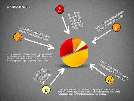 Business Concept Shapes Collection, Slide 11, 02771, Shapes — PoweredTemplate.com