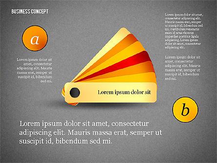 Business Concept Shapes Collection, Slide 12, 02771, Shapes — PoweredTemplate.com
