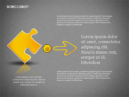 Business Concept Shapes Collection, Slide 13, 02771, Shapes — PoweredTemplate.com