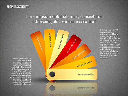 Business Concept Shapes Collection, Slide 14, 02771, Shapes — PoweredTemplate.com