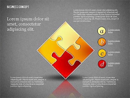 Business Concept Shapes Collection, Slide 16, 02771, Shapes — PoweredTemplate.com