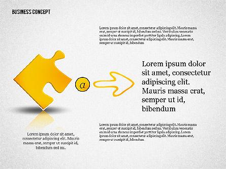 Business Concept Shapes Collection, Slide 5, 02771, Shapes — PoweredTemplate.com
