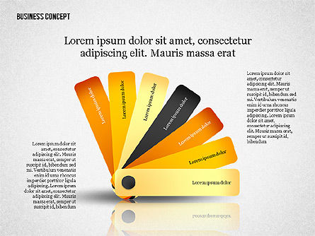 Business Concept Shapes Collection, Slide 6, 02771, Shapes — PoweredTemplate.com