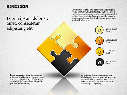 Business Concept Shapes Collection, Slide 8, 02771, Shapes — PoweredTemplate.com