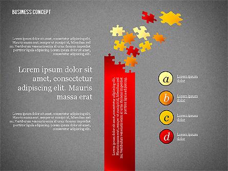 Business Concept Shapes Collection, Slide 9, 02771, Shapes — PoweredTemplate.com
