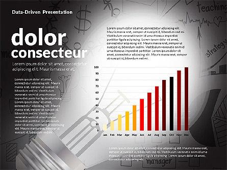 Data Driven Idea Concept Presentation, Slide 4, 02773, Data Driven Diagrams and Charts — PoweredTemplate.com