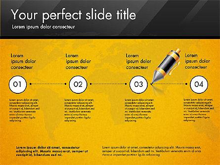 Pitch Deck Presentation Template, Slide 4, 02775, Presentation Templates — PoweredTemplate.com