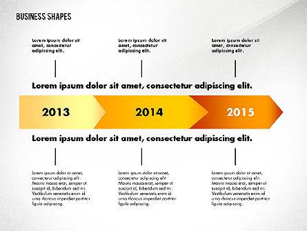 Process Concept Charts, Slide 2, 02776, Process Diagrams — PoweredTemplate.com