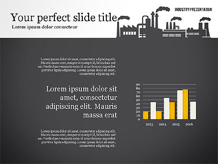 Industry Presentation Template, Slide 4, 02777, Presentation Templates — PoweredTemplate.com