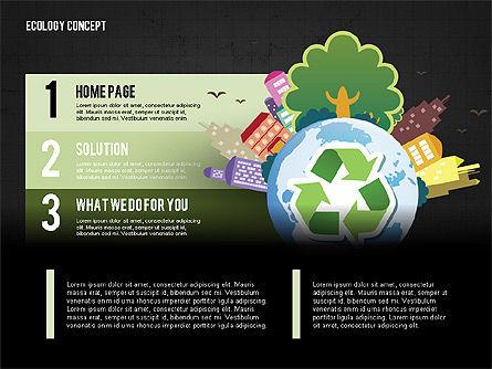 Recycling Presentation Concept, Slide 10, 02779, Presentation Templates — PoweredTemplate.com