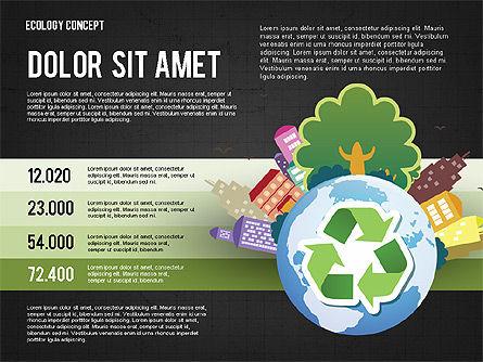 Recycling Presentation Concept, Slide 12, 02779, Presentation Templates — PoweredTemplate.com