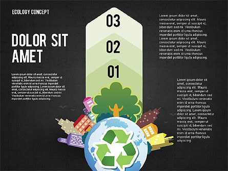 Recycling Presentation Concept, Slide 15, 02779, Presentation Templates — PoweredTemplate.com