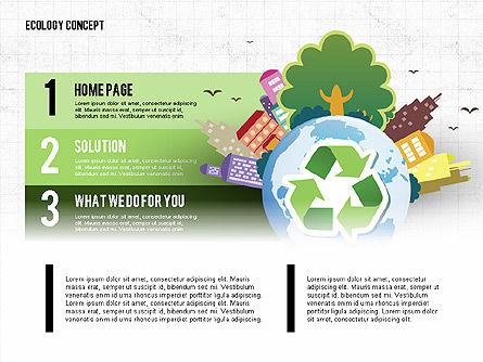 Recycling Presentation Concept, Slide 2, 02779, Presentation Templates — PoweredTemplate.com