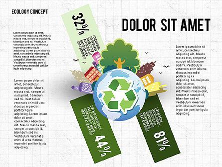 Recycling Presentation Concept, Slide 3, 02779, Presentation Templates — PoweredTemplate.com
