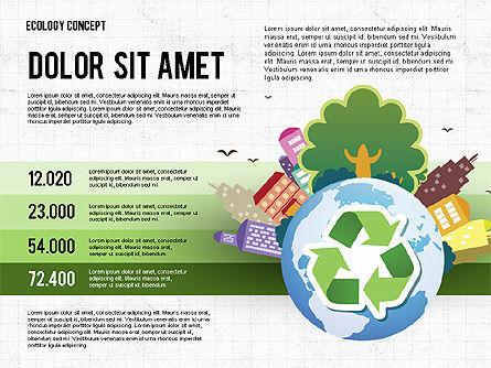 Recycling Presentation Concept, Slide 4, 02779, Presentation Templates — PoweredTemplate.com